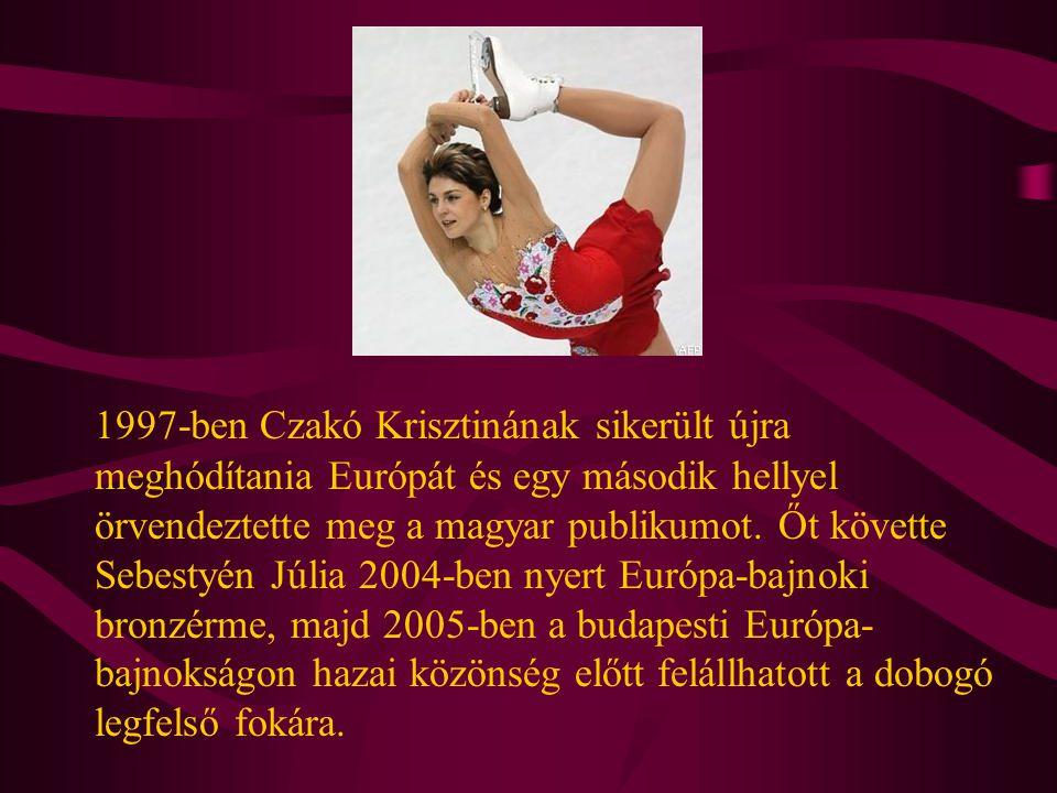 1997-ben Czakó Krisztinának sikerült újra meghódítania Európát és egy második hellyel örvendeztette meg a magyar publikumot. Őt követte Sebestyén Júli