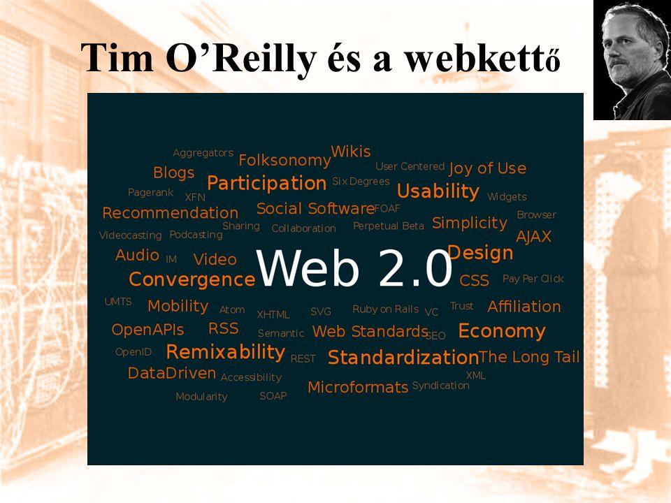 Tim O'Reilly és a webkett ő