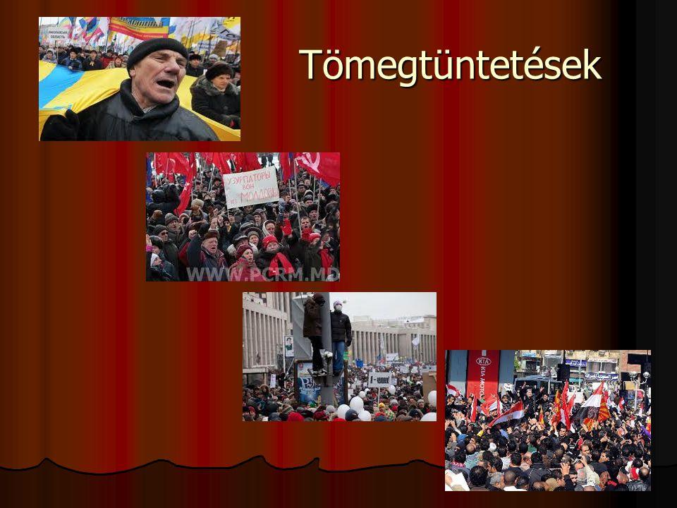 Tömegtüntetések Tömegtüntetések