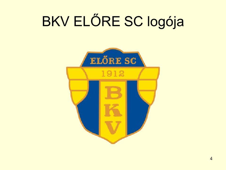 4 BKV ELŐRE SC logója