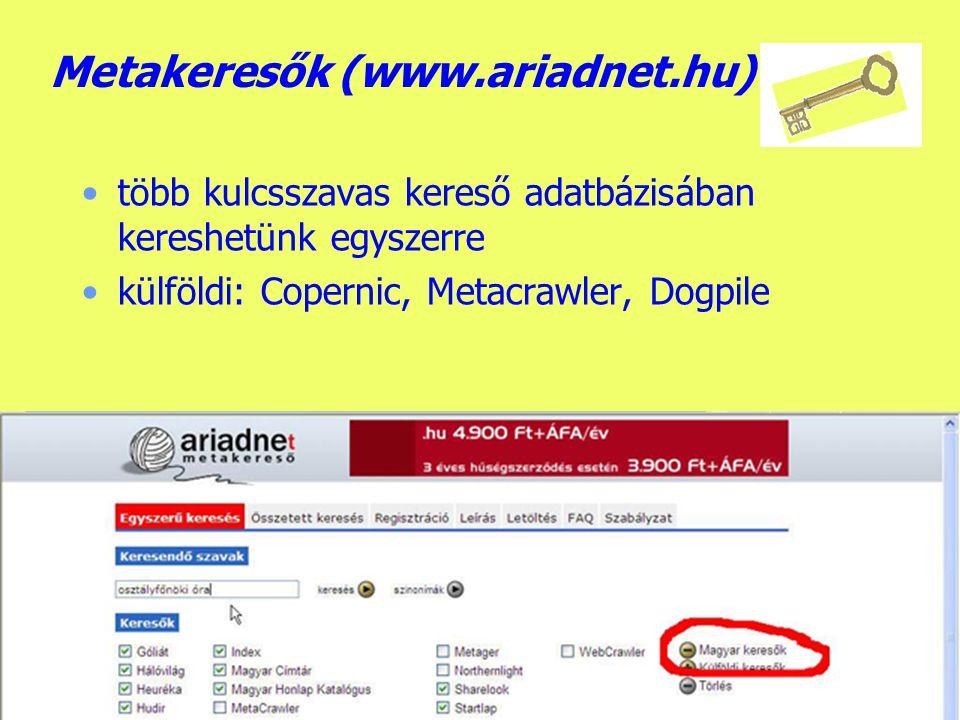 Készítette: B.László Kulcsszavas keresők - Google beállítás: keresés, felület nyelve...