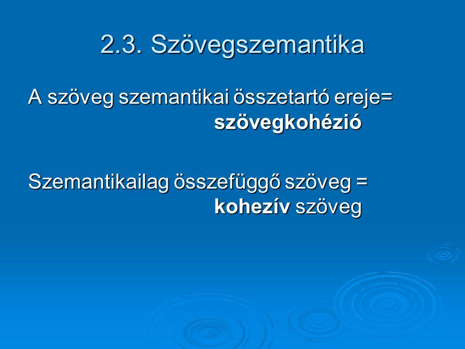Szövegelemzési módszerek  Szövegtani  (Hermeneutikai)  (Stilisztikai) stb.