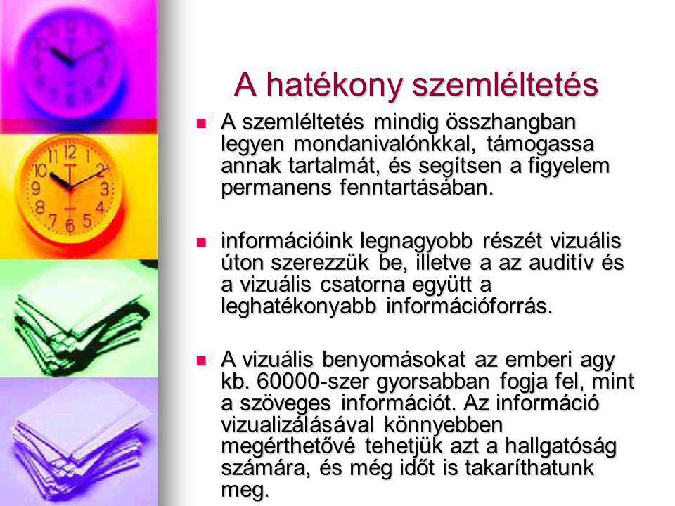 Médiakommunikációs eszközök Frontális előadás: minimális technikai előkészületeket igényelők: minimális technikai előkészületeket igényelők: (pl.