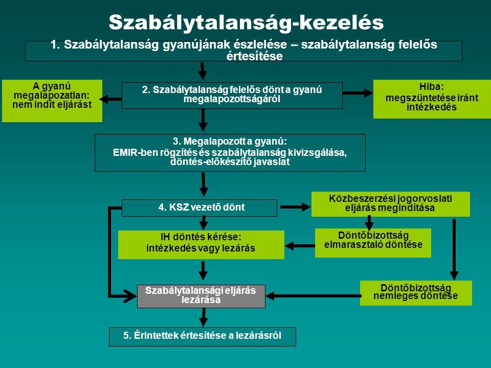 Szabálytalanság-kezelés 1.