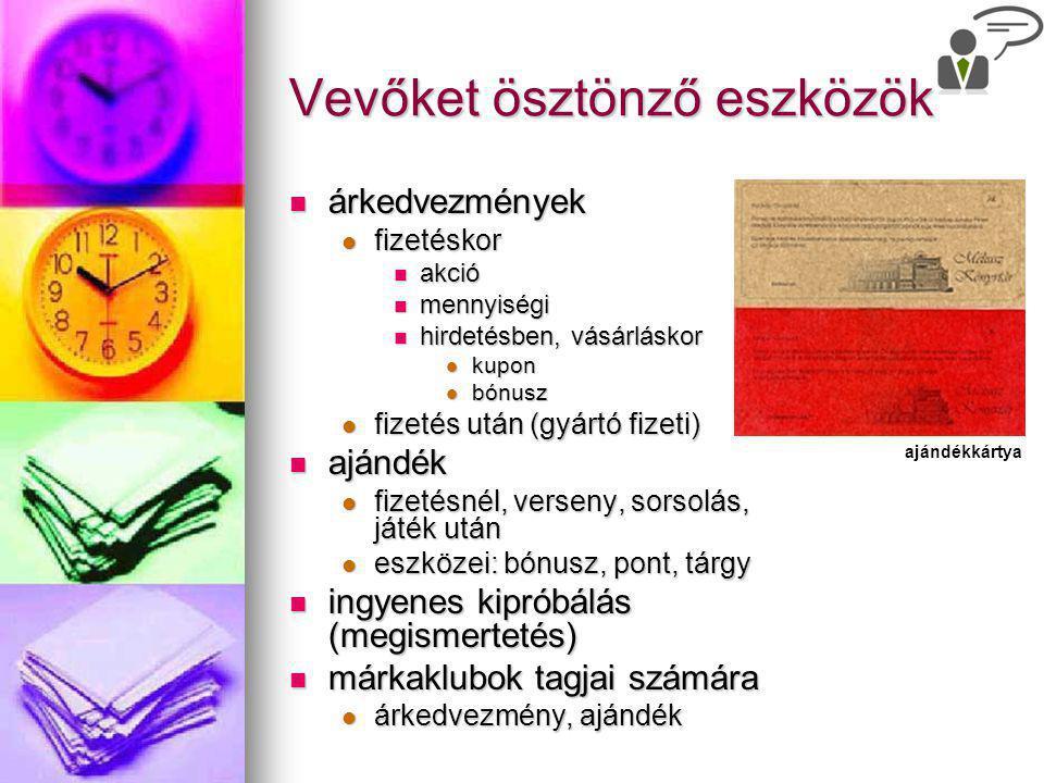 Eladáshelyi ösztönzés kirakat kirakat plakát plakát feliratok feliratok bemutatók bemutatók terméknél terméknél vevőáramlás rögzítése vevőáramlás rögzítése impulzus- vásárlás a pénztárnál impulzus- vásárlás a pénztárnál Kiállítás a Somogyi-könyvtárban Bemutató: szakkönyvvásár