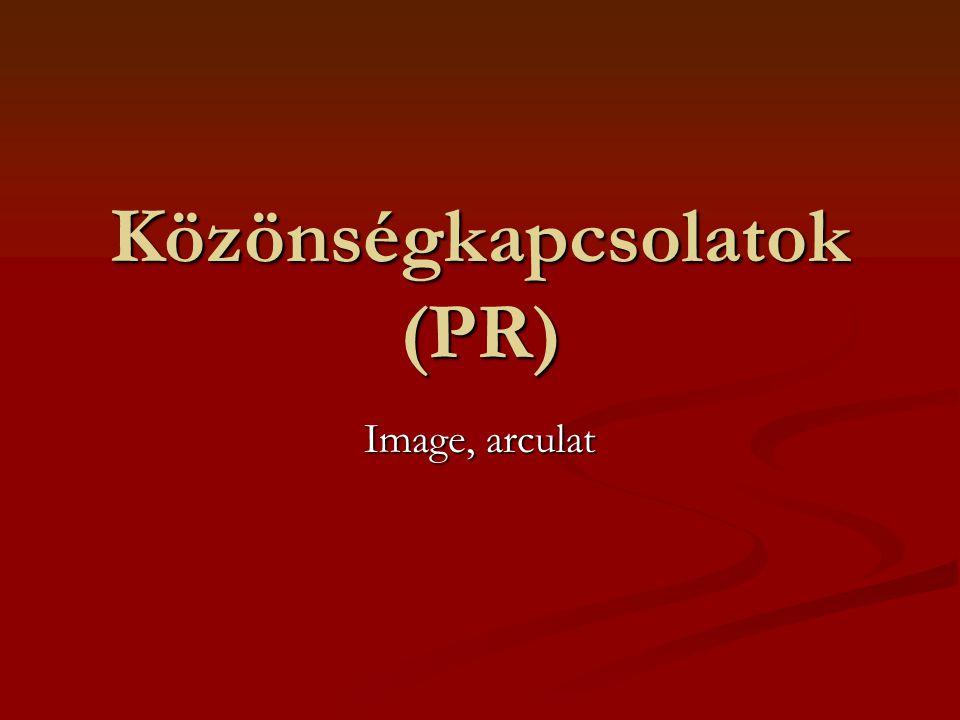 Közönségkapcsolatok (PR) Image, arculat