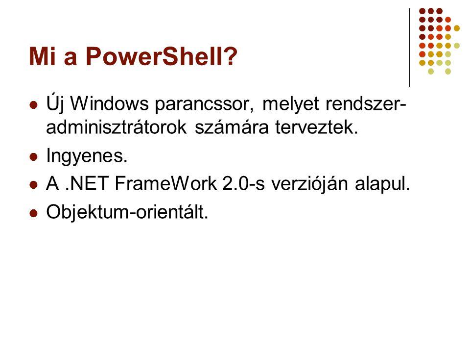 Mi a PowerShell. Új Windows parancssor, melyet rendszer- adminisztrátorok számára terveztek.