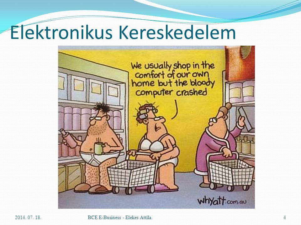 Elektronikus Kereskedelem 2014. 07. 18.BCE E-Business - Elekes Attila4