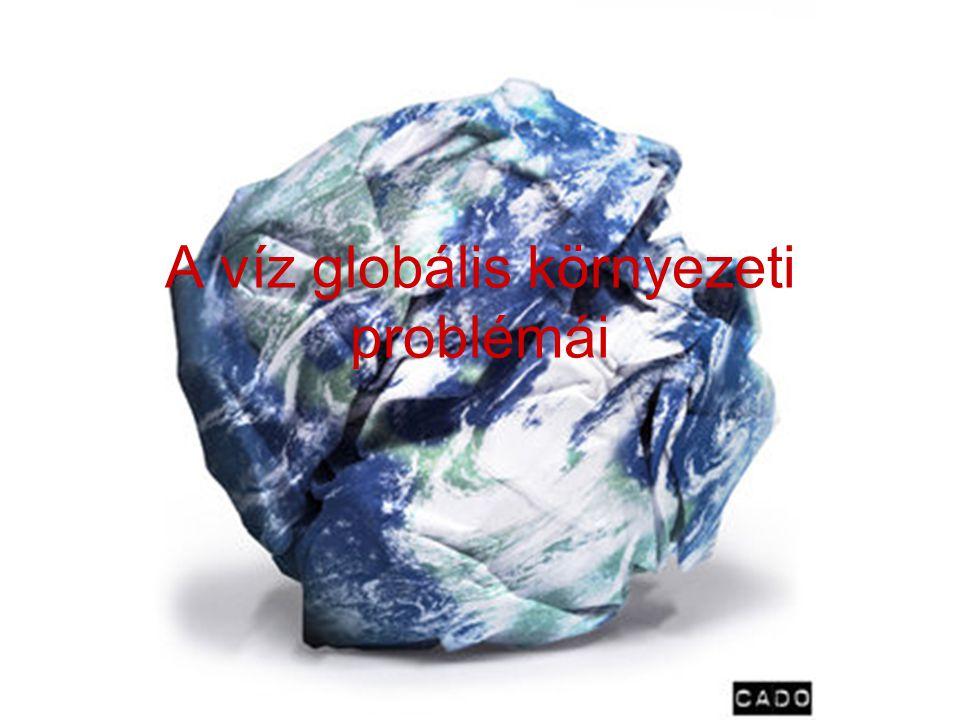 A víz globális környezeti problémái