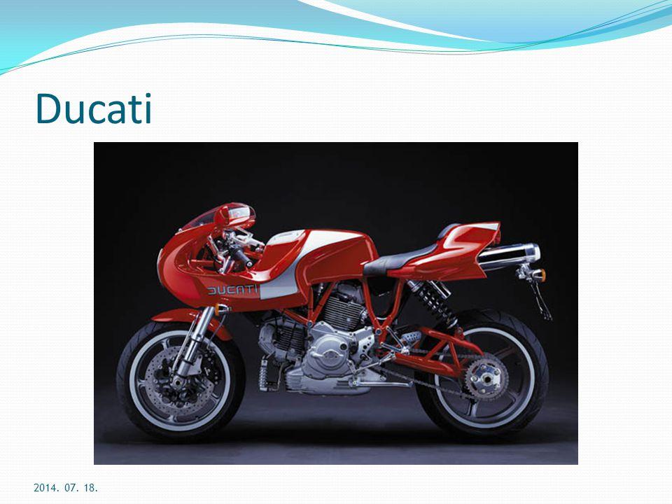 Ducati Tapasztalatok, eredmények: kereskedőknek nincs leltári kockázat, marketing vagy reklámköltség, de van jutalék márkába vetett bizalom szerepe földrajzilag elérhető területek számának növelése megrendelésre gyártás felé való elmozdulás IT fejlesztések beszállítók és vevők felé 2014.