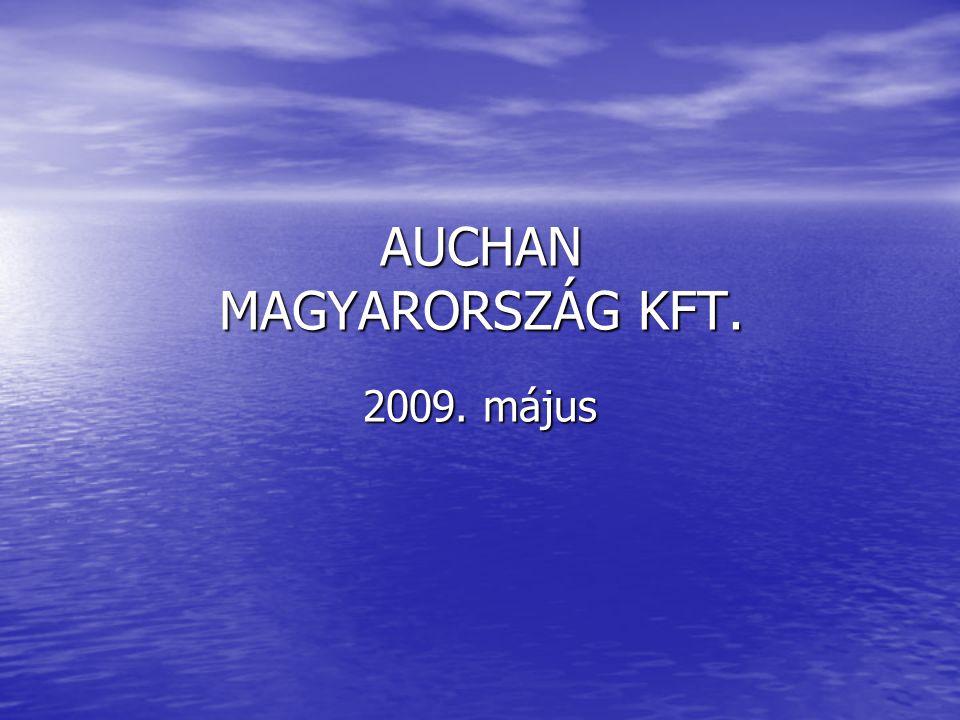 AUCHAN MAGYARORSZÁG KFT. 2009. május