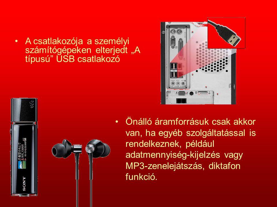 Önálló áramforrásuk csak akkor van, ha egyéb szolgáltatással is rendelkeznek, például adatmennyiség-kijelzés vagy MP3-zenelejátszás, diktafon funkció.