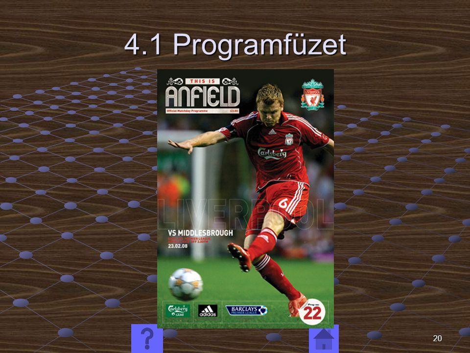 20 4.1 Programfüzet