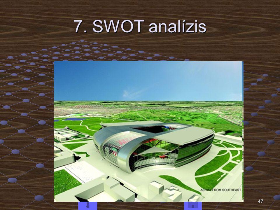 47 7. SWOT analízis