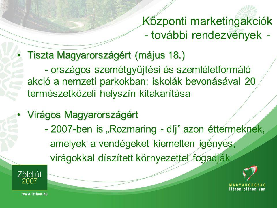 Tiszta Magyarországért (május 18.)Tiszta Magyarországért (május 18.) - országos szemétgyűjtési és szemléletformáló akció a nemzeti parkokban: iskolák