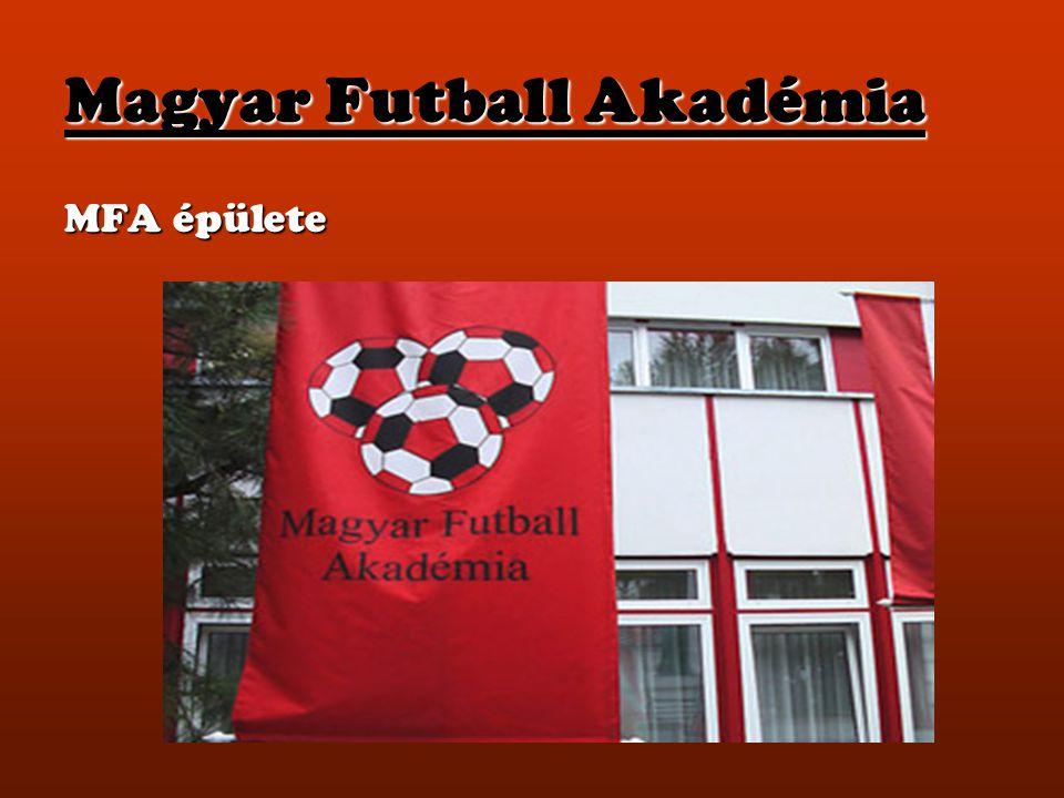 Magyar Futball Akadémia MFA épülete