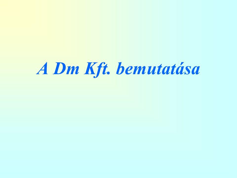 A Dm Kft. bemutatása