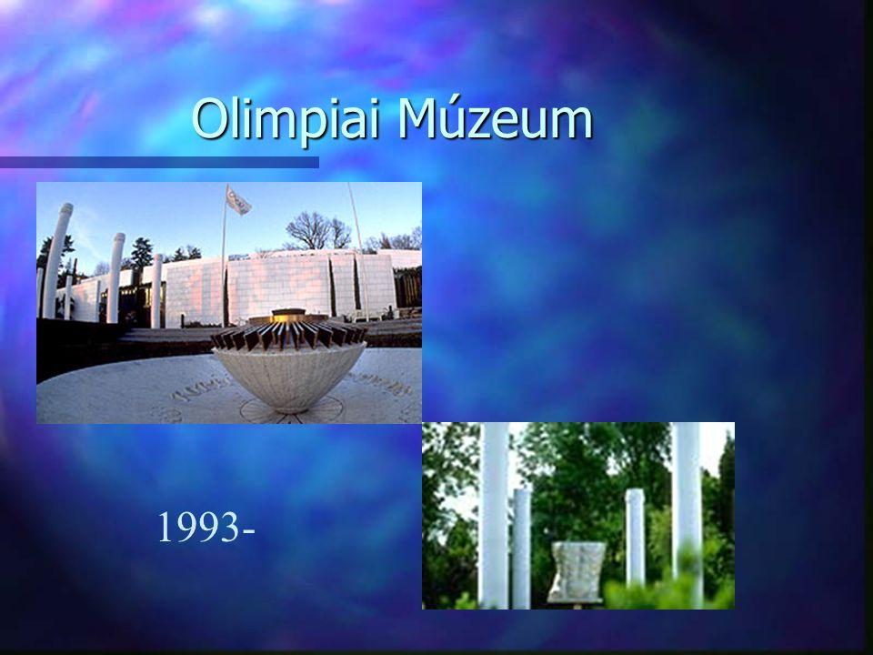 Olimpiai Múzeum 1993-