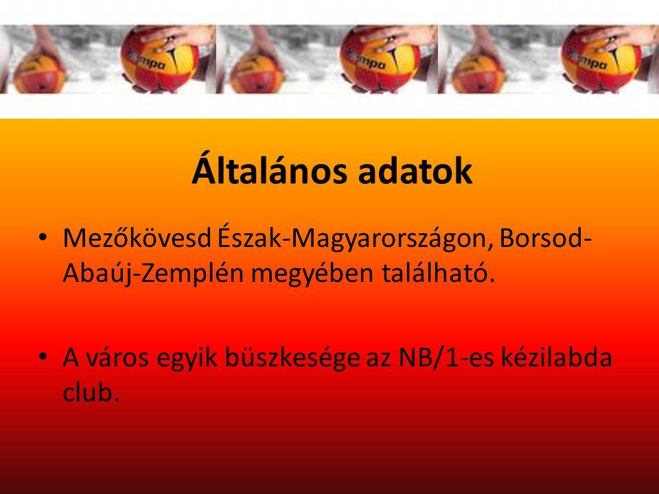 Általános adatok Mezőkövesd Észak-Magyarországon, Borsod- Abaúj-Zemplén megyében található.