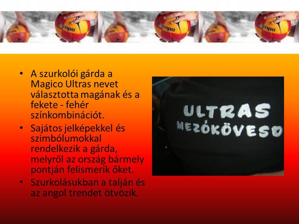 A szurkolói gárda a Magico Ultras nevet választotta magának és a fekete - fehér színkombinációt.