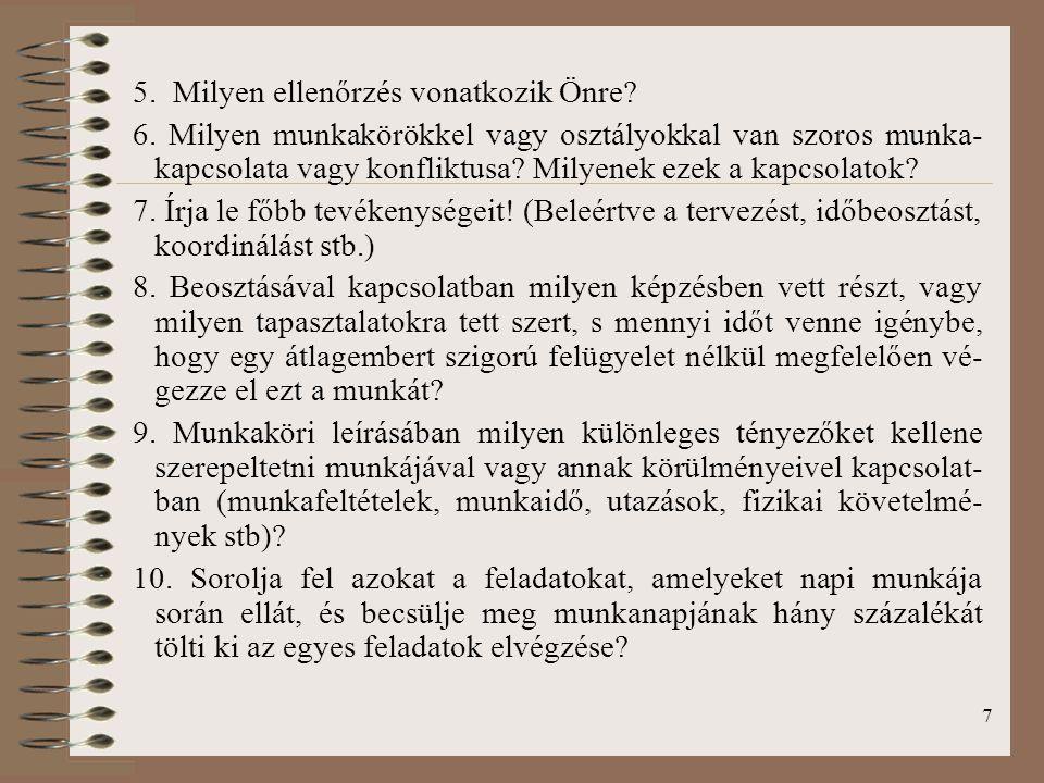 28 Bokor A., Szőts-Kováts K., Csillag S., Bácsi K., Szilas R.,: Emberi erőforrás menedzsment.