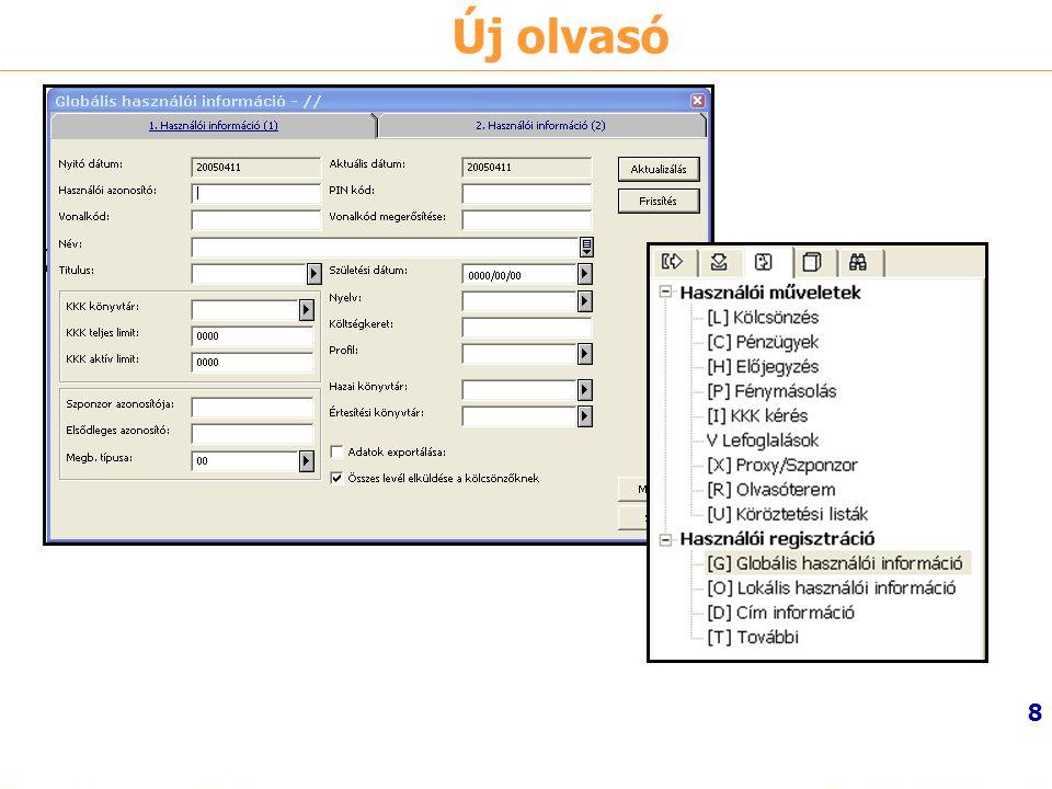 9 Használói információ 1.