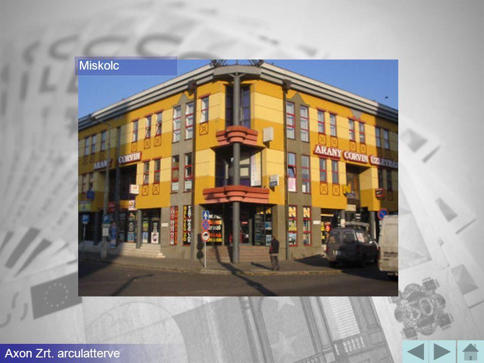 Debrecen Axon Zrt. arculatterve