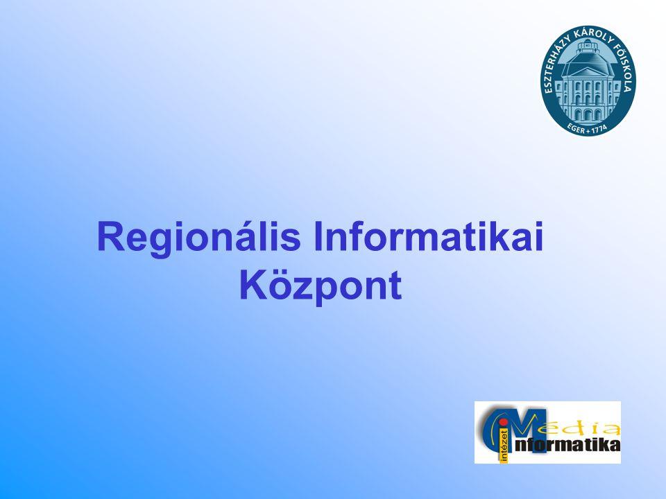 Regionális Informatikai Központ