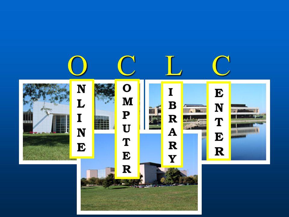 Története 1960-as évek: Online Union Catalogue (OLUC) és osztott katalogizálási rendszer az amerikai könyvtárakban 1960-as évek: Online Union Catalogue (OLUC) és osztott katalogizálási rendszer az amerikai könyvtárakban 1967-ben Ohio államában lévő főiskolák és egyetemek vezetői megalapították az Ohio College Library Centert (OCLC)  cél egy olyan számítógépesített rendszert, amiben az Ohiói tudományos intézmények könyvtárai erőforrásokat tudtak megosztani és költséget csökkenteni.