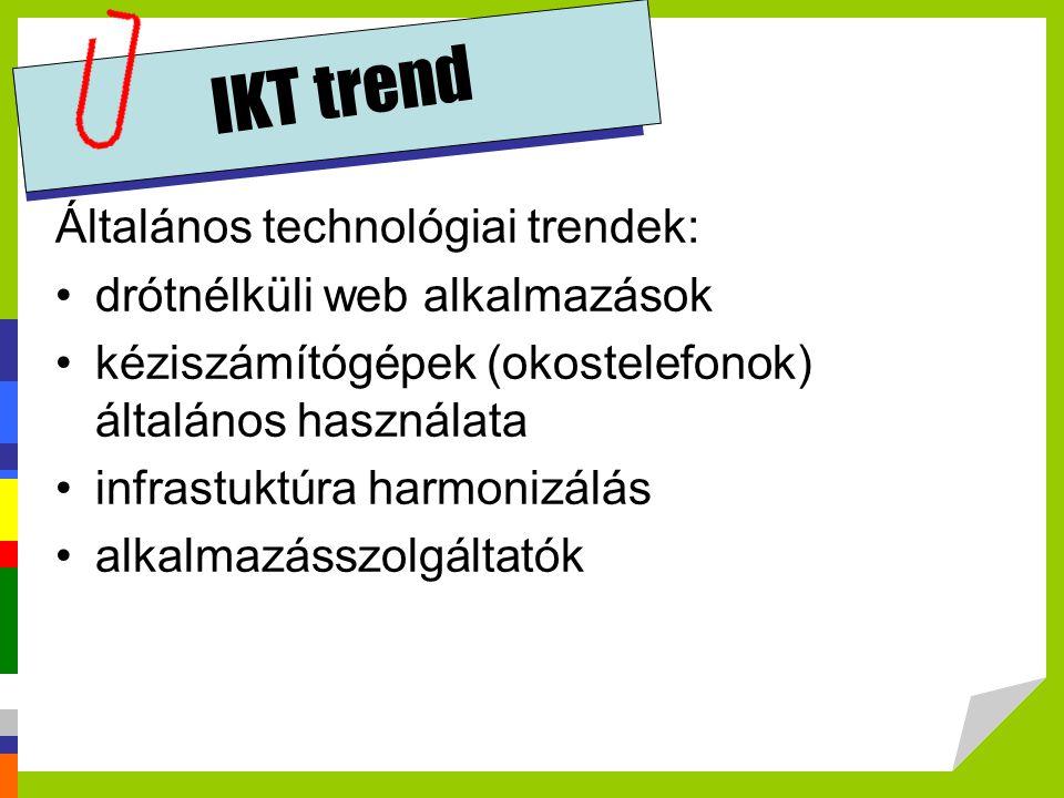 IKT trend Cloud computing trendek: CRM a weben .