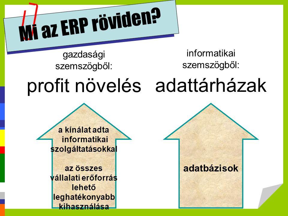 Adattárház olyan információtár, amely különböző adatforrásokat egységes séma szerint integrál, és rendszerint fizikailag nem osztott környezetben valósul meg.