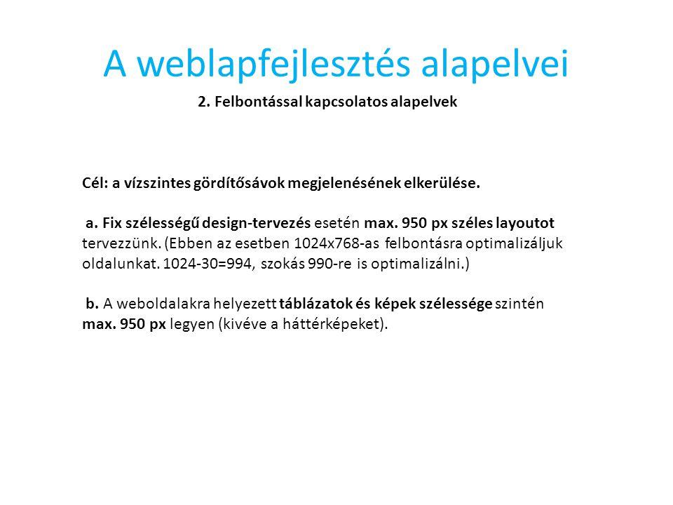 A HTML leírónyelv (The HTML Description Language)