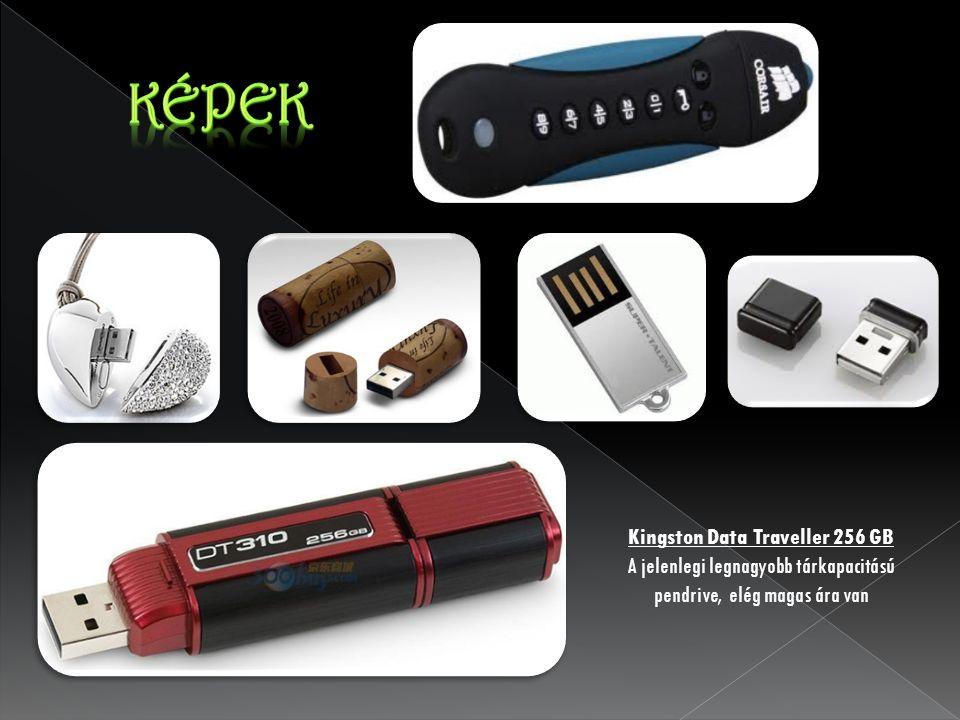 Kingston Data Traveller 256 GB A jelenlegi legnagyobb tárkapacitású pendrive, elég magas ára van