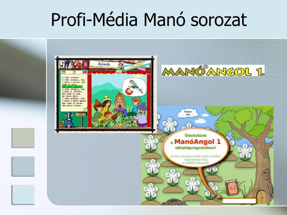 Profi-Média Manó sorozat