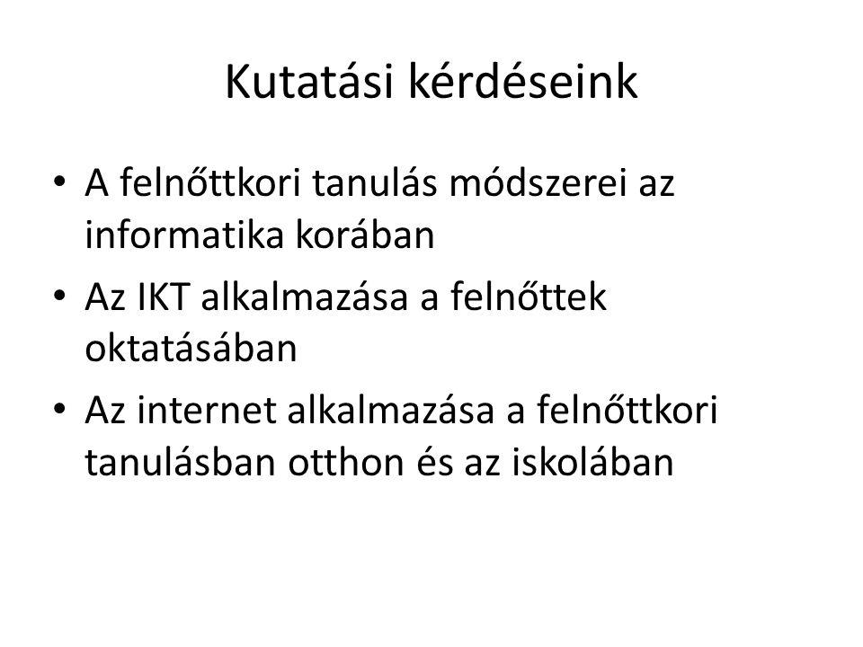 Internet a tanulásban 1.érettségi tételek kidolgozása (legfőképp!) 2.