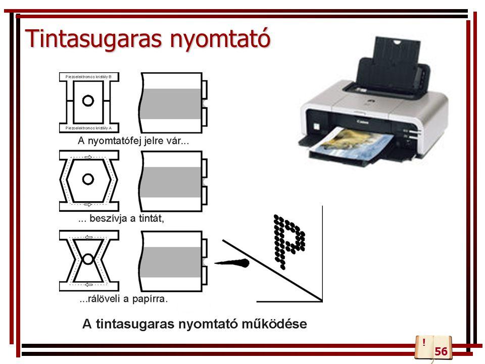 Tintasugaras nyomtató 56 !