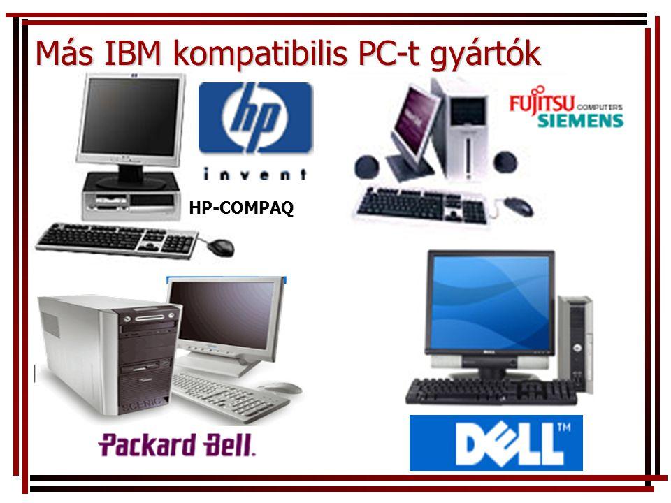 Más IBM kompatibilis PC-t gyártók HP-COMPAQ