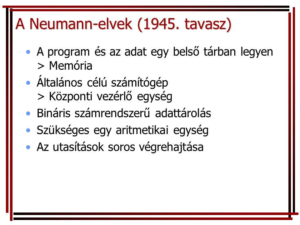 A Neumann-elvek (1945.