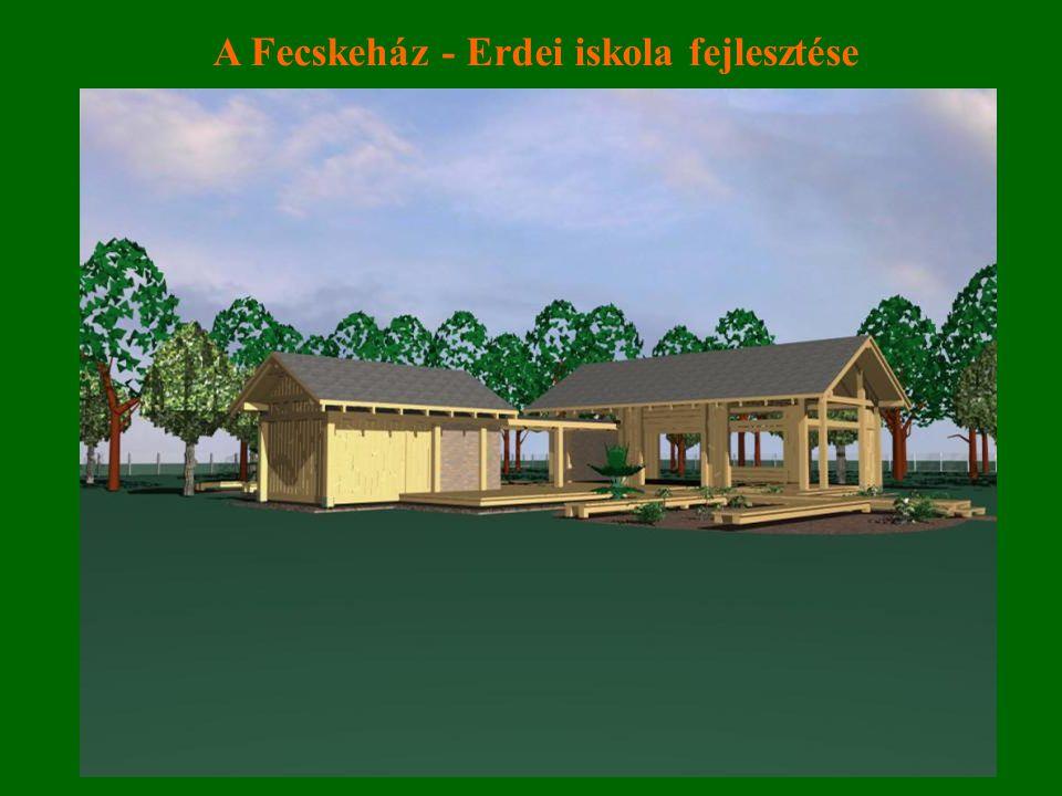 A Fecskeház - Erdei iskola fejlesztése