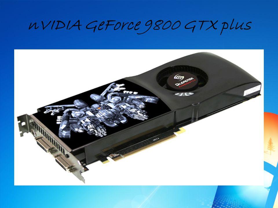nVIDIA GeForce 9800 GTX plus