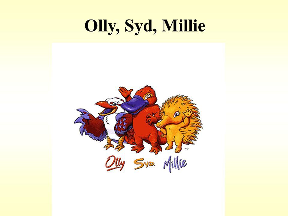 Olly, Syd, Millie