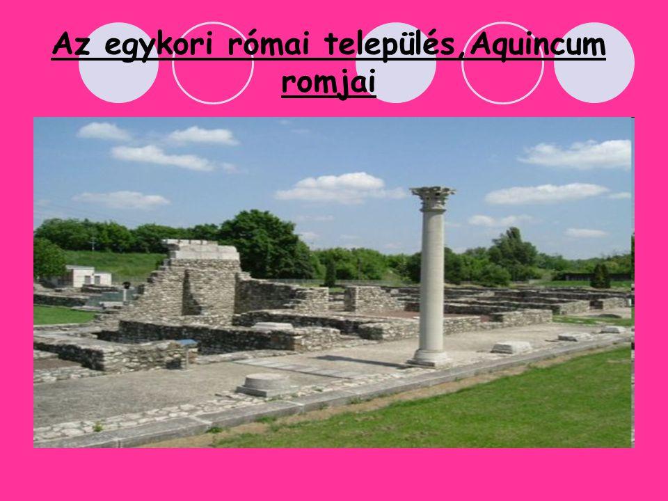 Az egykori római település,Aquincum romjai