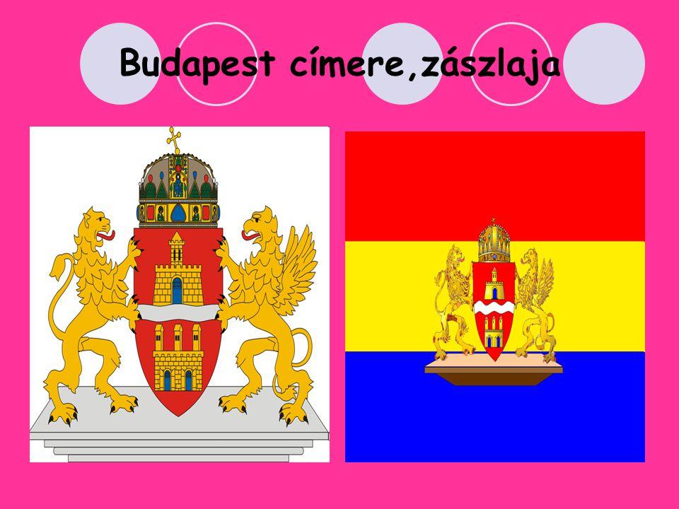 Budapest címere,zászlaja