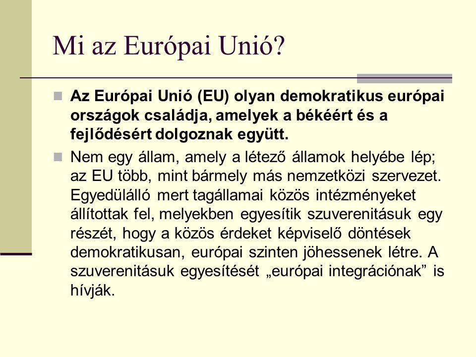 Gazdasági és monetáris unió Célja az árstabilitás, a közös valuta értékállásának biztosítása, az euró-övezet monetáris politikájának alakítása, valamint az egységes, közös valuta bevezetése.