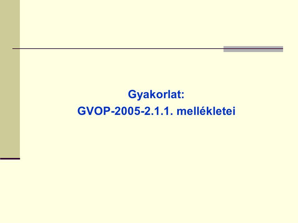 Projekt mellékletekhez kapcsolódó szabályok II. A mellékleteket magyar nyelven kell benyújtani. Idegen nyelvű okirat esetén (pl. ISO-tanusítvány) álta