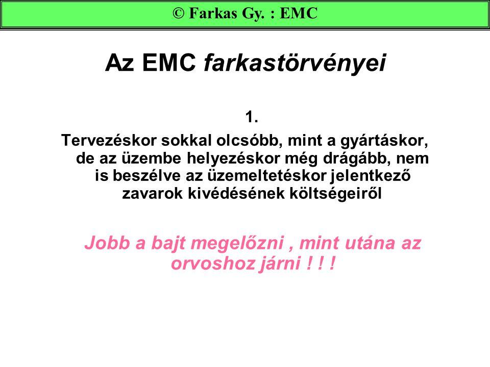 Az EMC farkastörvényei 1.