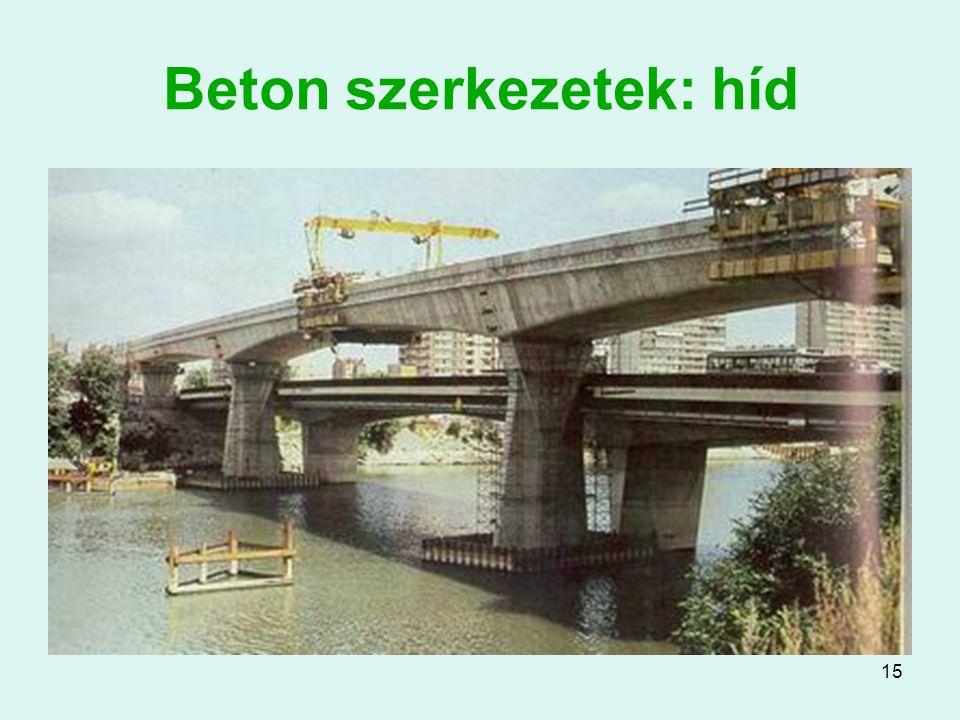 15 Beton szerkezetek: híd