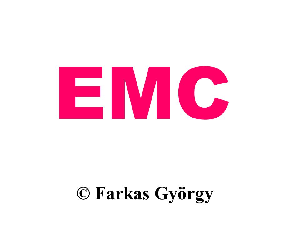 EMC © Farkas György