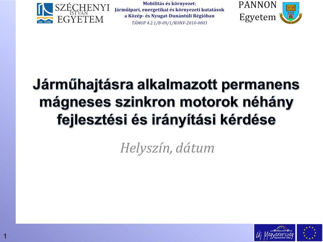 1 Helyszín, dátum