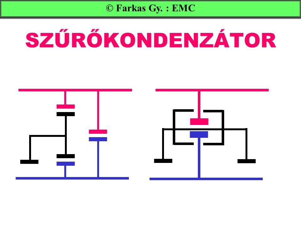 SZŰRŐKONDENZÁTOR © Farkas Gy. : EMC